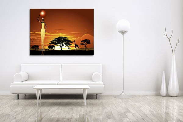 Savannah Sunset Prints Canvas