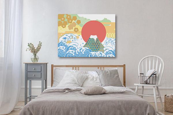 Sea and Auspicious Canvas Art Prints