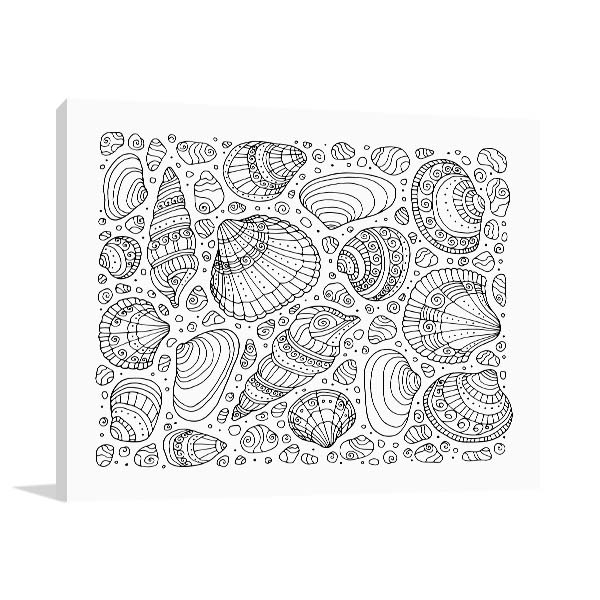 Sea Shells Wall Art