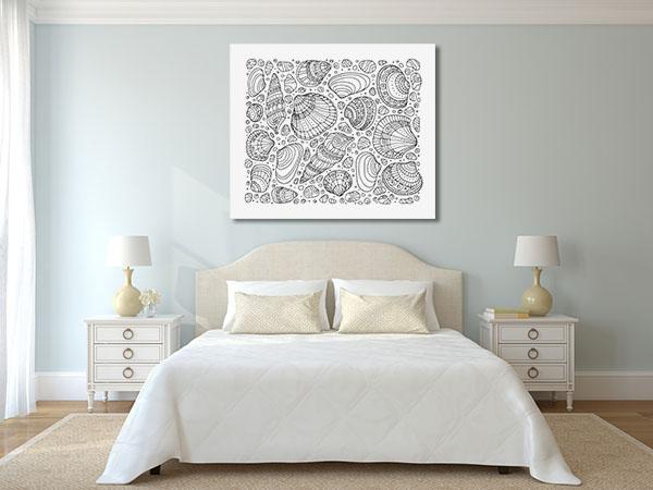 Sea Shells Canvas Prints