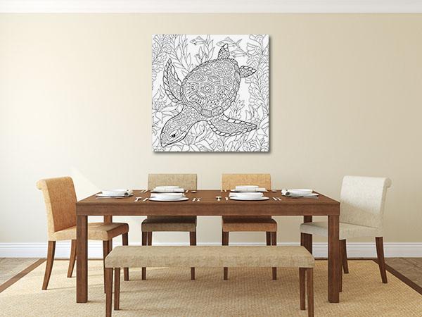 Sea Turtle Canvas Prints