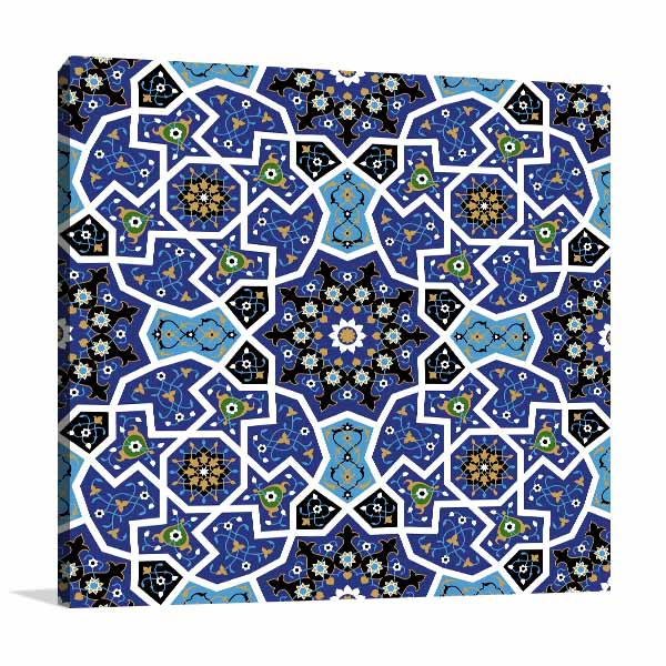 Seamless Alhambra Prints Canvas
