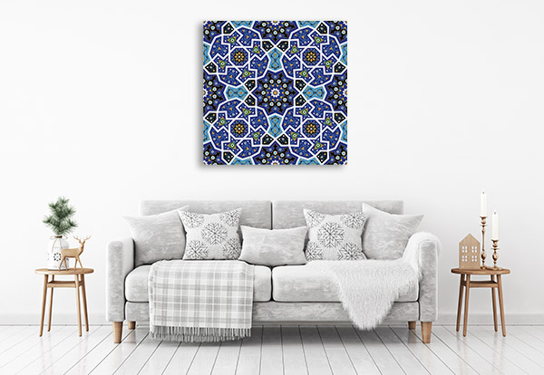 Seamless Alhambra Canvas Prints