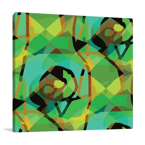 Seamless Cubism Canvas Prints