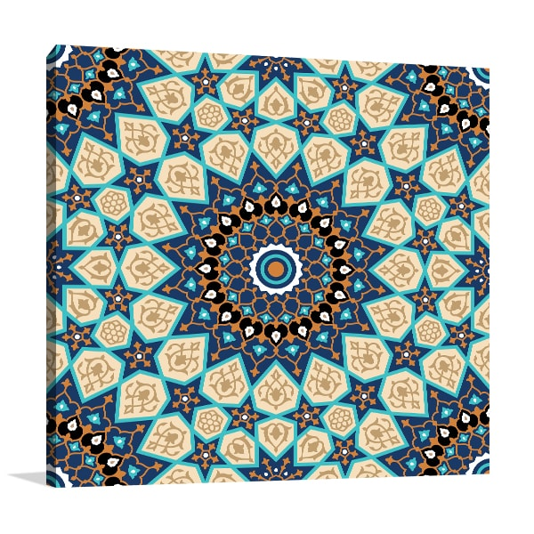 Seamless Islam Art Prints