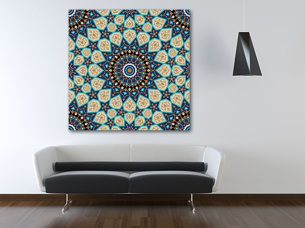 Seamless Islam Prints Canvas