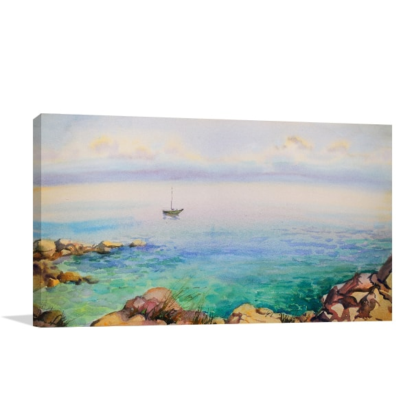 Seascape Canvas Art Print