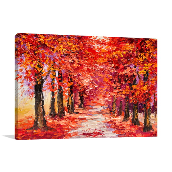 Season of Autumn Colors Wall Art