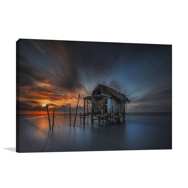 Seawater Home Canvas Art Print
