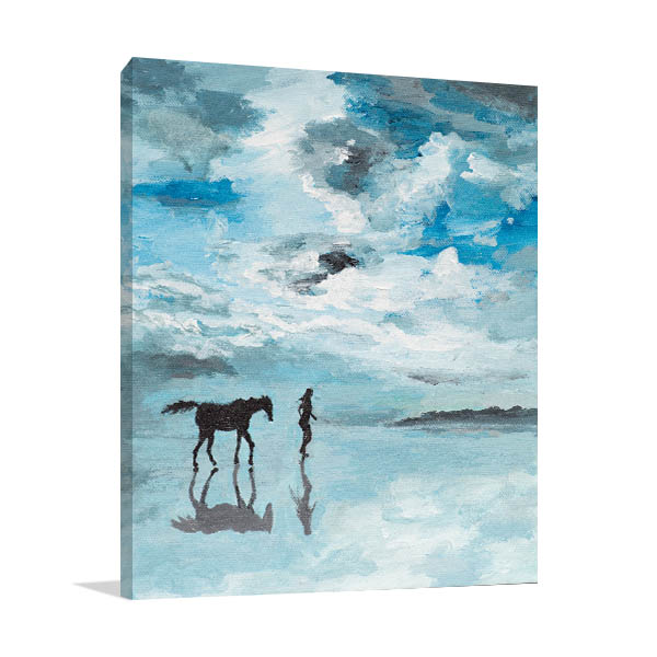 Serene Scene Prints Canvas