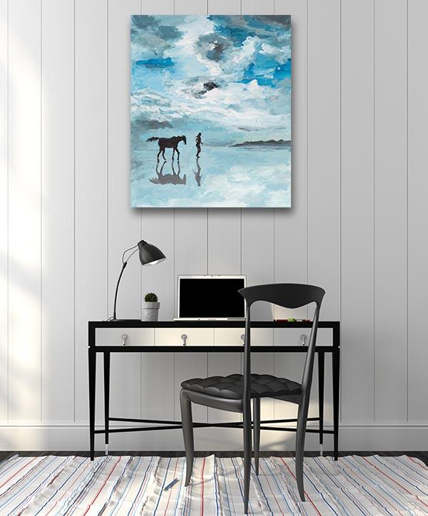 Serene Scene Canvas Art Prints