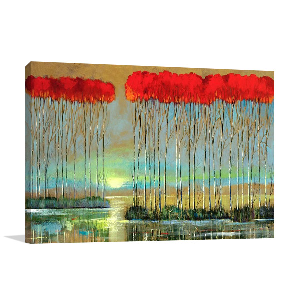 Serenity Rising Canvas Print | Smith F