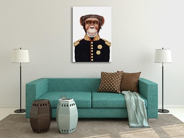Sergeant Monkey Art Prints