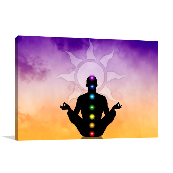 Seven Chakras Wall Art