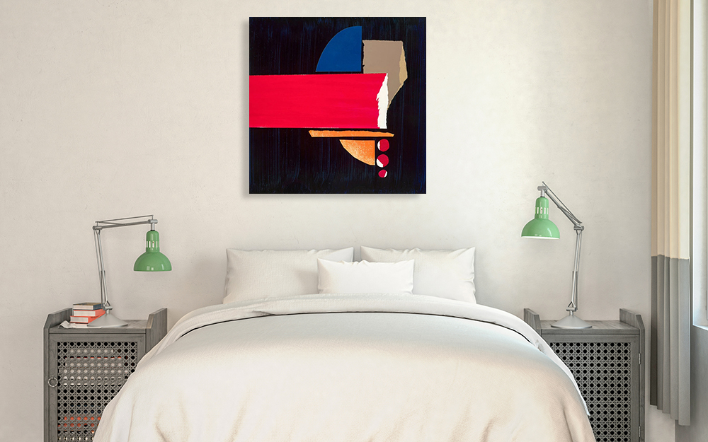 Bedroom Abstract Canvas Print