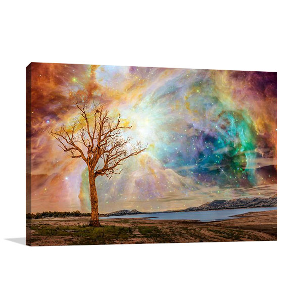 Shining Magical Sky | Canvas Wall Art