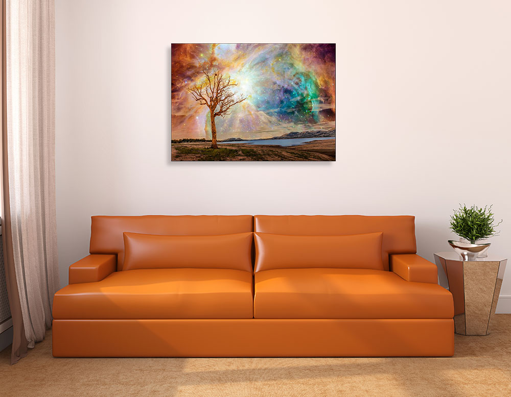 Earth Tone Fantasy Wall Art