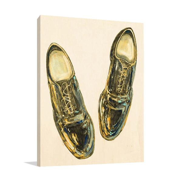 Shoe Fits I Wall Print | Peter Kuttner