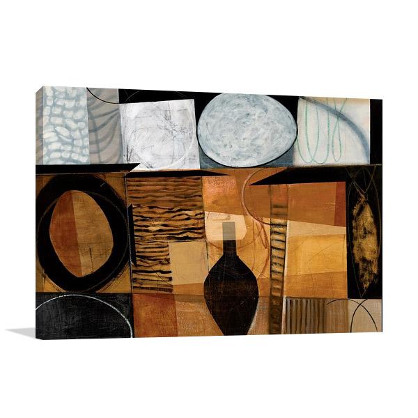 Skance Wall Canvas Print | Dauncey