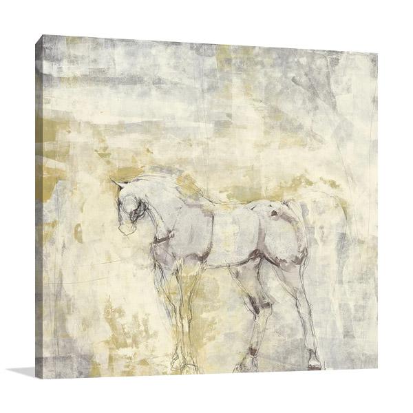 Sketchbook I Canvas Print | Harris