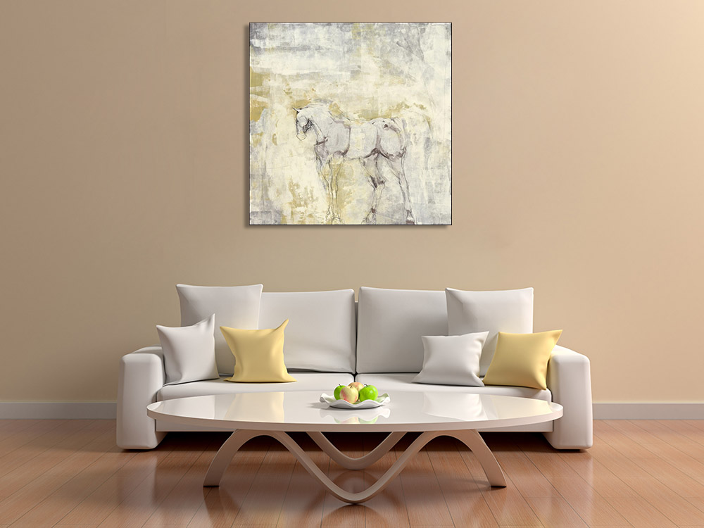Abstract Animal Canvas Art
