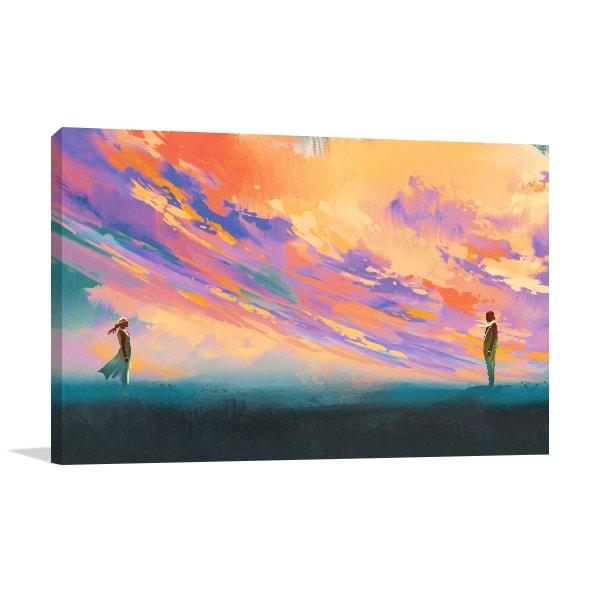 Sky of Love Print Artwork