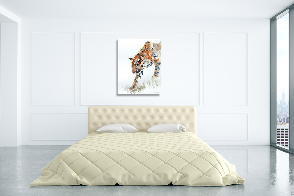 Animal Art Print on Canvas