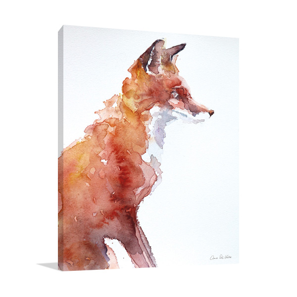 Sly As A Fox Wall Art Print