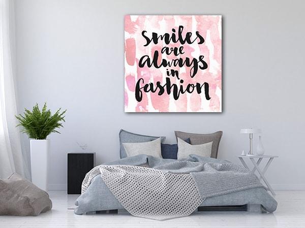 Smile Always Canvas Prints