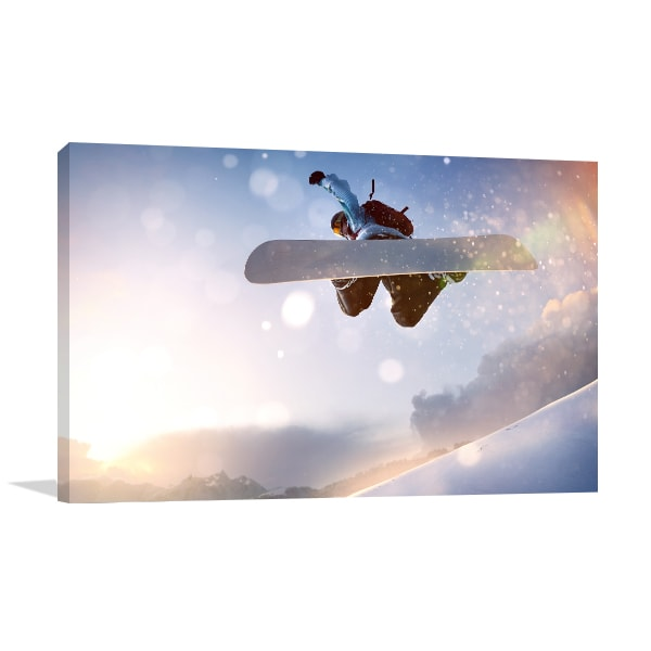 Snowboarding Wall Art