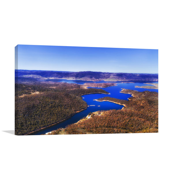Snowy Mountains National Park Art Print Jindabyne Artwork Picture