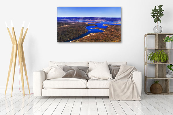 Snowy Mountains National Park Art Print Jindabyne Picture Canvas