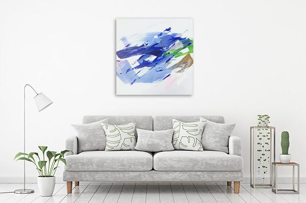 Katarina Kalmanova | So Fast And Beautiful II Canvas Wall Art