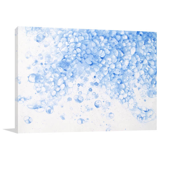 Soap Froth Canvas Art