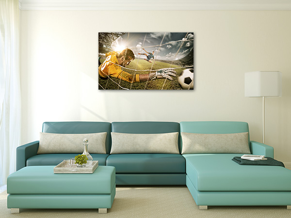 Soccer on Play Canvas Prints