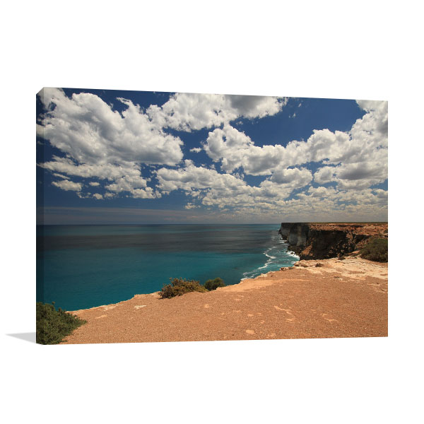 South Australia Art Print Elliston Bay Coastline Wall Photo