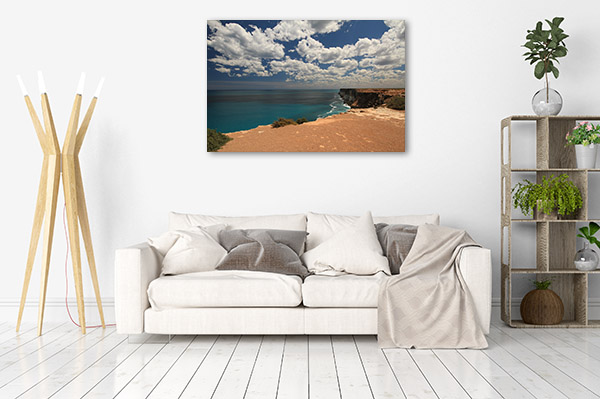 South Australia Art Print Elliston Bay Coastline Picture Artwork