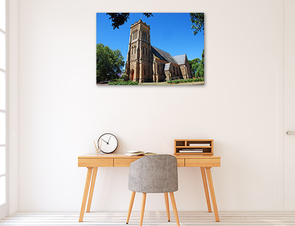 South Australia Art Print Gawler Church Picture Canvas