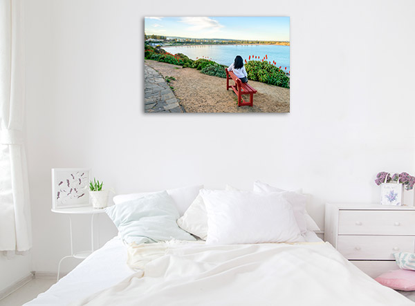South Australia Art Print Horseshoe Bay View Canvas Artwork