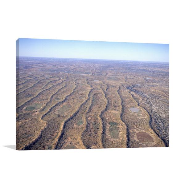 South Australia Art Print Innamincka Aerial Picture Wall