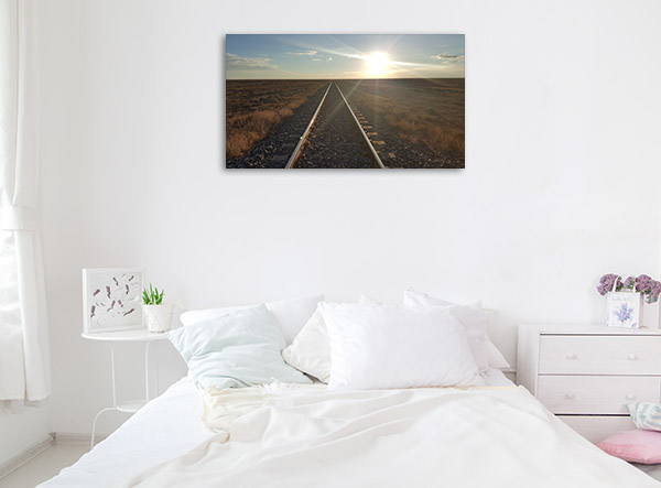South Australia Art Print Manna Hill Sunset Artwork Canvas
