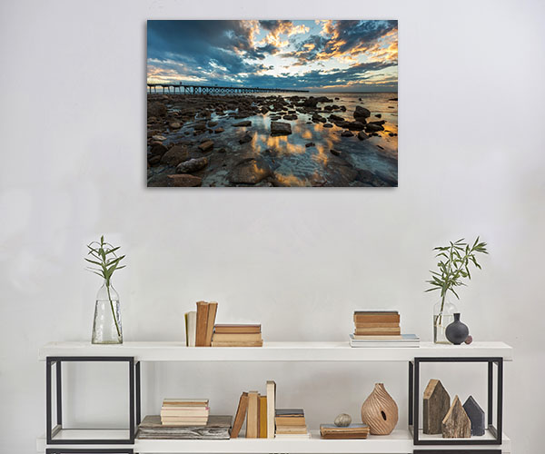 South Australia Art Print Port Hughes Jetty Picture Artwork