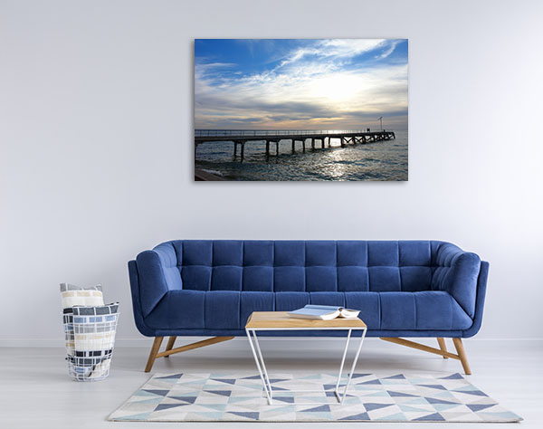 South Australia Art Print Port Julia Jetty Photo Canvas
