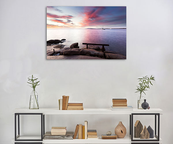 South Australia Art Print Port Lincoln Harbour Picture Wall