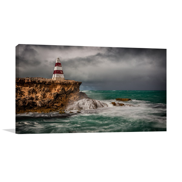 South Australia Canvas Print Robe Cliff Artwork Picture