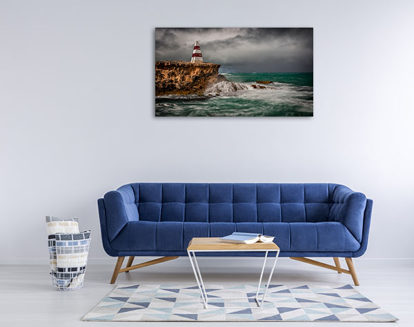 South Australia Canvas Print Robe Cliff Wall Picture