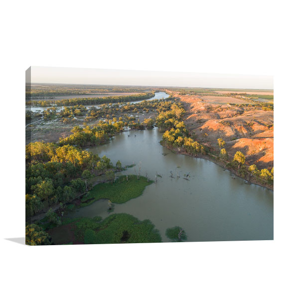 South Australia Paringa Art Print Murray River Artwork Wall