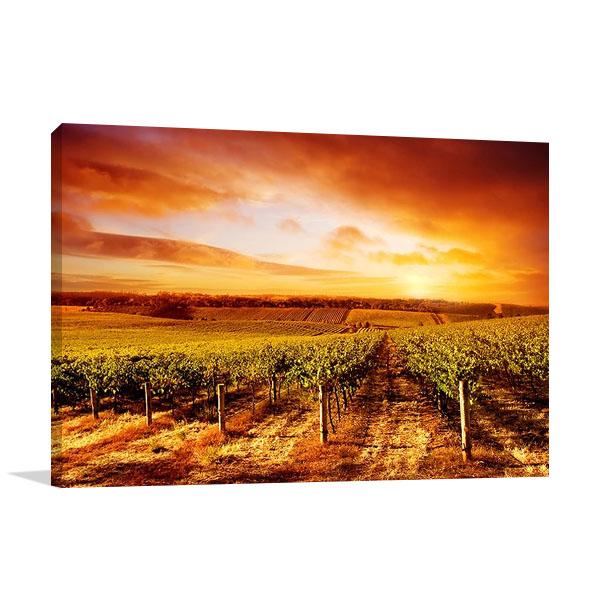 Wall Print South Australia Sunset