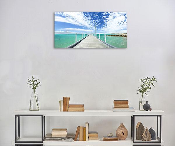 South Australia Wall Art Print Beachport Jetty Canvas Photo