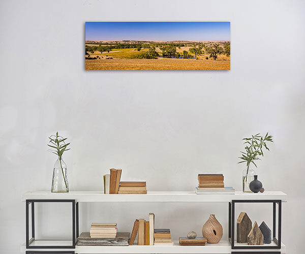 South Australia Wall Art Print Eden Valley Lookout Artwork Picture